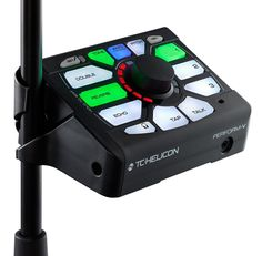 Professional vocals at your fingertips. Buy the TC Helicon Perform-V Vocal Processor at Andertons Music today with free UK Delivery. Music Recording Equipment, Velcro Cable Ties, Turn Blue, Phantom Power, Recorder Music, One With Nature, Nintendo Consoles, Acoustic, Musicals
