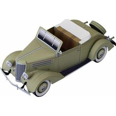 Ford Convertible Cabriolet,Vehicles,Paper Craft,North America / South America,United States,Classic car,beige,automobile