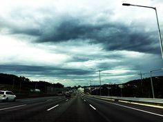 on my way home (Bundang)