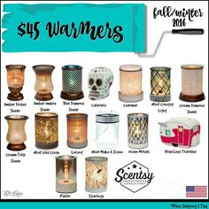 Scentsy $45 warmers love these