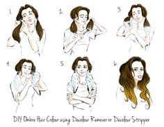 Ombre Hair | Hair steps, Ombre hair and Ombre