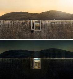Casa Brutale – Une maison encastrée dans une falaise en mer Egée