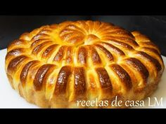 PAN RELLENO BUENISIMO / DELICIOUS STUFFED BREAD - YouTube Blueberry Yogurt Cake, Bubble Bread, Pan Relleno, Pan Bread, Empanadas, Dry Yeast, Stuffed Bread, Main Dishes, Cake Decorating