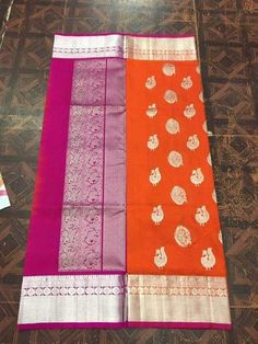 Venkatgiri Silk Saree – FashionVibes Gadwal Sarees Silk, Cutwork Blouse Designs, Bollywood Style, Pure Silk Sarees, Lehenga, Jewlery, Weaving, Collections, Suit