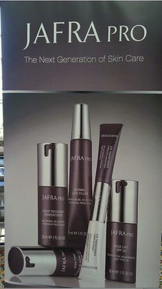 This our pro line of skin care. It rocks! Jafra Cosmetics www.myjafra.com/carolneuman