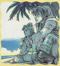 The Legend of Zelda Link's Awakening- Why did they make Marin so cute