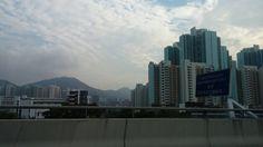 The ride into the city — in Guangzhou, Guangdong, China.