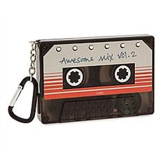 Guardians of the Galaxy Vol. 2 Sound Machine | Disney Store You'll be in tune with Star-Lord and the rest of the Guardians of the Galaxy with this cool Sound Machine. Inspired by the ''Awesome Mix'' cassette tape in the original, this features cool sound effects and music at the touch of a button.