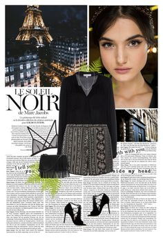 """""""Le soleil noir"""" by khammy ❤ liked on Polyvore featuring Marc Jacobs, Dolce&Gabbana, Fleur du Mal, Milly, Dorothy Perkins, Gianvito Rossi, White House Black Market and Devon Pavlovits"""