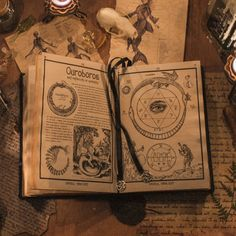 The Grimoire Also known as The Book of Shadows. The name being interchangeable, this is what a spiritualist or witch would use to keep log of his/her spells and findings. It can be anything from successes to failures and effectively is used very much like a school notebook if you need some layman's terms.