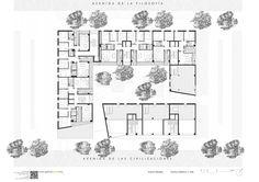 46 Viviendas Sociales,First Floor Plan