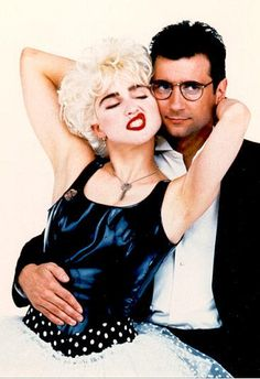 Madonna & Griffin Dunne by Herb Ritts for 'Who's That Girl', 1987 80s Movies, Movie Tv, Veronica, Madonna Movies, Madonna True Blue, 80s Trends, Girl Film, Bae, Best Portraits