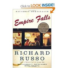 Empire Falls by Richard Russo (2002). Pulitzer Prize winning tale of a man living in a small, dying town in upstate NY and his relationship with his daughter, son-to-be ex, and the town grande dame. Compelling and compassionate look at our frailties and our glories.