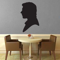 Han Solo Silhouette Wall Decal - No 2