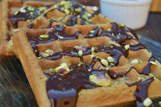 CHOCOLATE GUINNESS WAFFLES
