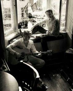 B/W Irish Hunkiness!!!;-) Ryan Kelly & Neil Byrne <3