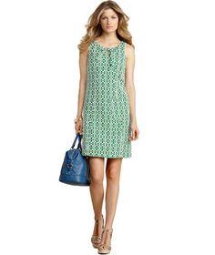 Tommy Hilfiger Sleeveless Printed Dress