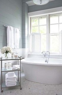 Palmetto Bluff - Private Residence - traditional - bathroom - charleston - by Linda McDougald Design | Postcard from Paris Home