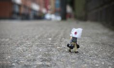 Little People – A tiny Street Art Collection (3 of 4) -- slinkachu