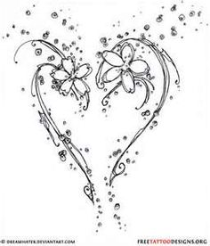 55 Heart Tattoos Love And Sacred Tattoo Designs Design Pixel Heart Flower Tattoo, Tribal Heart Tattoos, Sacred Heart Tattoos, Heart Tattoo Designs, Tattoo Designs For Girls, Flower Tattoos, Butterfly Tattoos, Cross Tattoos, White Heart Tattoos
