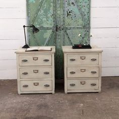 old industrial chest