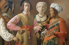 The Fortune Teller, by Georges de La Tour