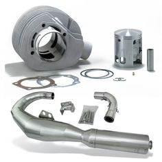 Add some performance with this High End Performance Kit for you Vespa VSX or VSE Vespa P200e, Vespa Scooters, Scooter Parts, Vintage Vespa, Kit