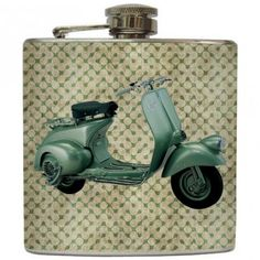 Scooter flask