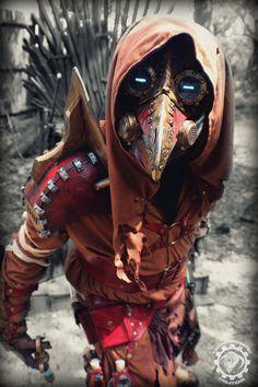 Dr. Cipherous - Arcane steampunk plague doctor by TwoHornsUnited on DeviantArt