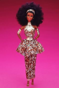 This beautiful Barbie doll would look great inside a Barbie dome!