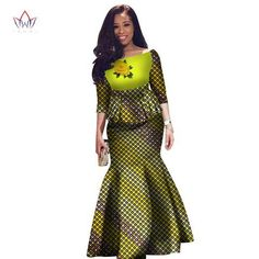 African clothes for women,Two Pieces Set Women Half Sleeve Crop Tops & Long Maxi Skirt Sets African Attire, African Wear, African Dress, Maxi Outfits, Fashion Outfits, Fashion Styles, Afro, African American Fashion, Kente Styles