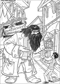 Find This Pin And More On Coloriage Harry Potter By Marjolaine Grange