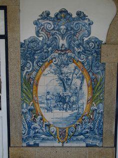 Painel de Azulejos - Rio Tinto , Portugal