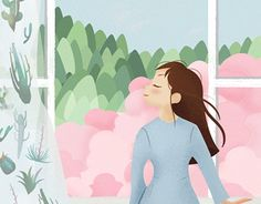 """Check out new work on my @Behance portfolio: """"spring illustration"""" http://be.net/gallery/50949295/spring-illustration"""
