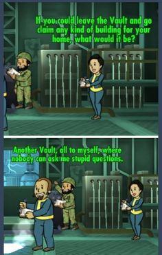 When The People In Your Fallout Vault Start Treating Each Other Like A Holes