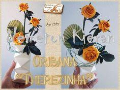 Origami, Flower Arrangements, Birthday Cake, Flowers, Floral Arrangements, Birthday Cakes, Origami Paper, Origami Art, Cake Birthday