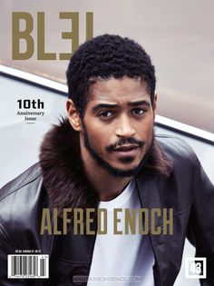 Alfred Enoch para BLEU Magazine por Vincent Dolman
