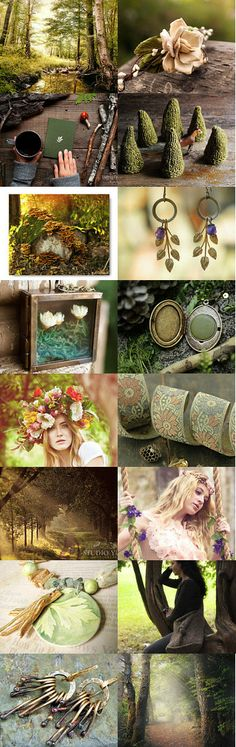 Tell me about the forest by Anna Borysewicz-Segit on Etsy--Pinned with TreasuryPin.com