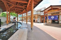 Footbaths Near Yudanaka Station