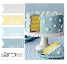 Color Crush 5.1.2013 - Butter Yellow and Soft Blues