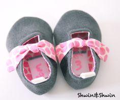 Shwin&Shwin: Forget-Me-Knot Shoes {Free PDF Pattern}