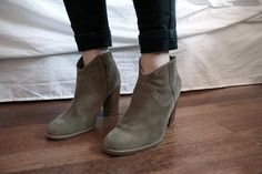 ankle skinnies + ankle boots.