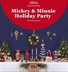 This crafted layout of Mickey and Minnie's holiday party is a Disney fan's Christmas dream come true. Find out how you can get the same look!
