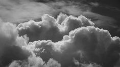 Free video - Black And White, Nature, Clouds
