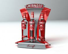 Point of Purchase Design | POP | POSM | POS | POSM | Smirnoff by Bora Turkoglu at Coroflot.com