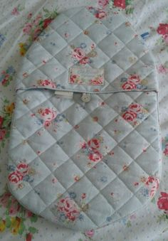 Cath Kidston quilted hot water bottle cover in Notting hill rose | eBay