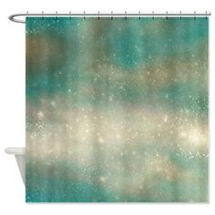 Shower Curtain Galaxy stars Postcard from by ArtfullyFeathered Milky Way Stars, Dark Gray Bathroom, Dark Grey Walls, Contemporary Shower, Fabric Postcards, Splish Splash, Vintage Marketplace, Bedroom Decor, House Design