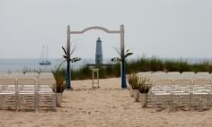 Frankfort Michigan Beach Wedding for 100 people by Simply Exquisite by the bay, LLC