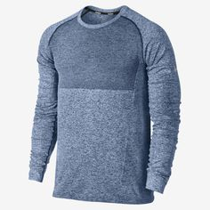 Nike Dri-FIT Knit Long-Sleeve Men's Running Shirt