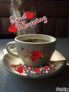 Imagine similară Good Morning Angel, Morning Post, Good Morning Good Night, Good Night Quotes, Morning Images, Love Images, Beautiful Roses, Morning Coffee, Tea Cups